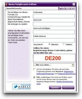 partypoker bonus code $500 - DE200